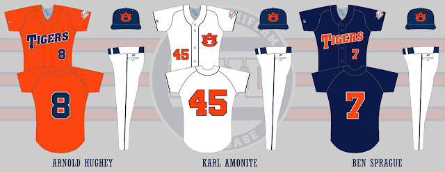 auburn baseball 2005 uniforms