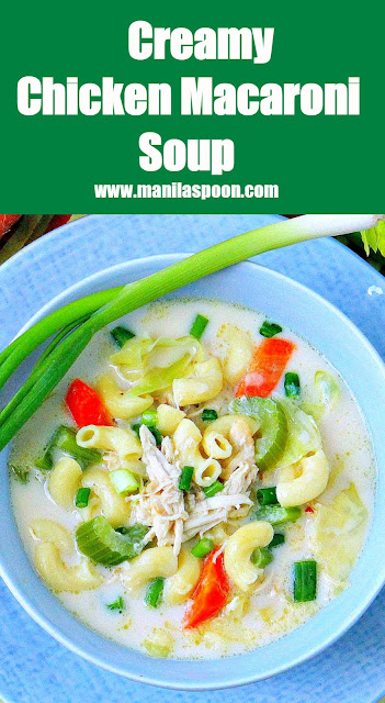 This is a creamy and flavorful Asian soup loaded with chicken, pasta and vegetables. Perfect for fall and winter!