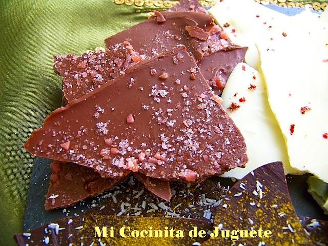 Lascas de Chocolate con Sabores: Peta Zetas