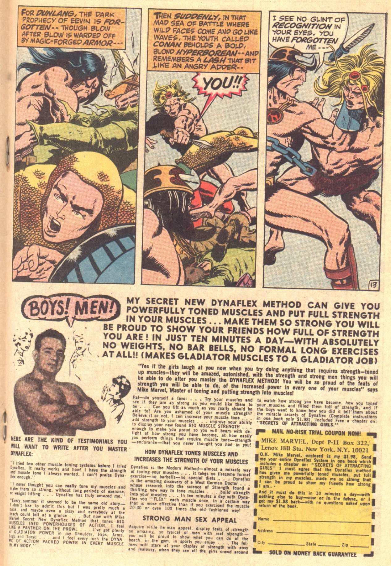 Conan the Barbarian (1970) Issue #3 #15 - English 14