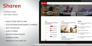 Download CodeCanyon – Sharen v3.8 – Trending Topics, viral news, stories