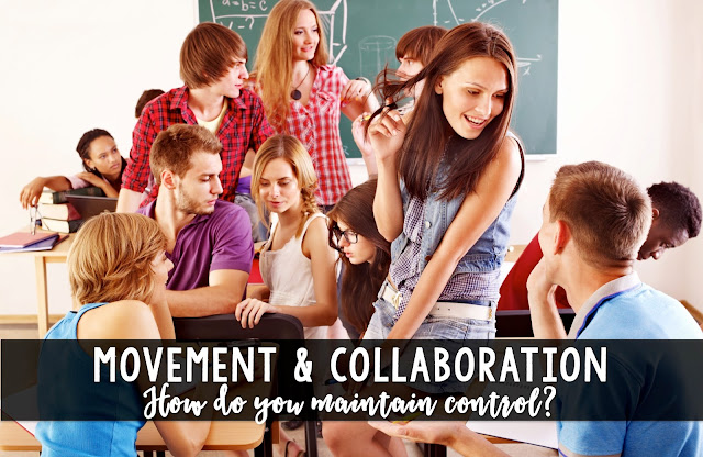 Movement & collaboration: how do you maintain control?