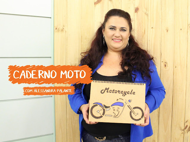 Aula - Caderno Moto com Alessandra Palante