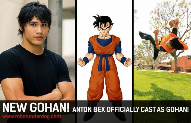 "Son Gohan 2 en ""Light of Hope"" la web-serie"