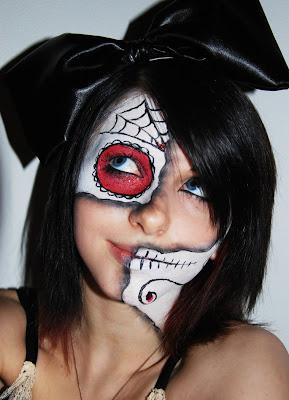 Elegancia Felina Halloween Maquillajes 2012