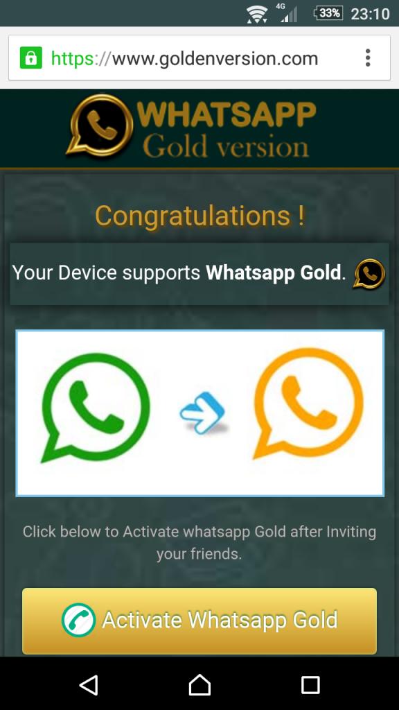 escroquerie whatsapp