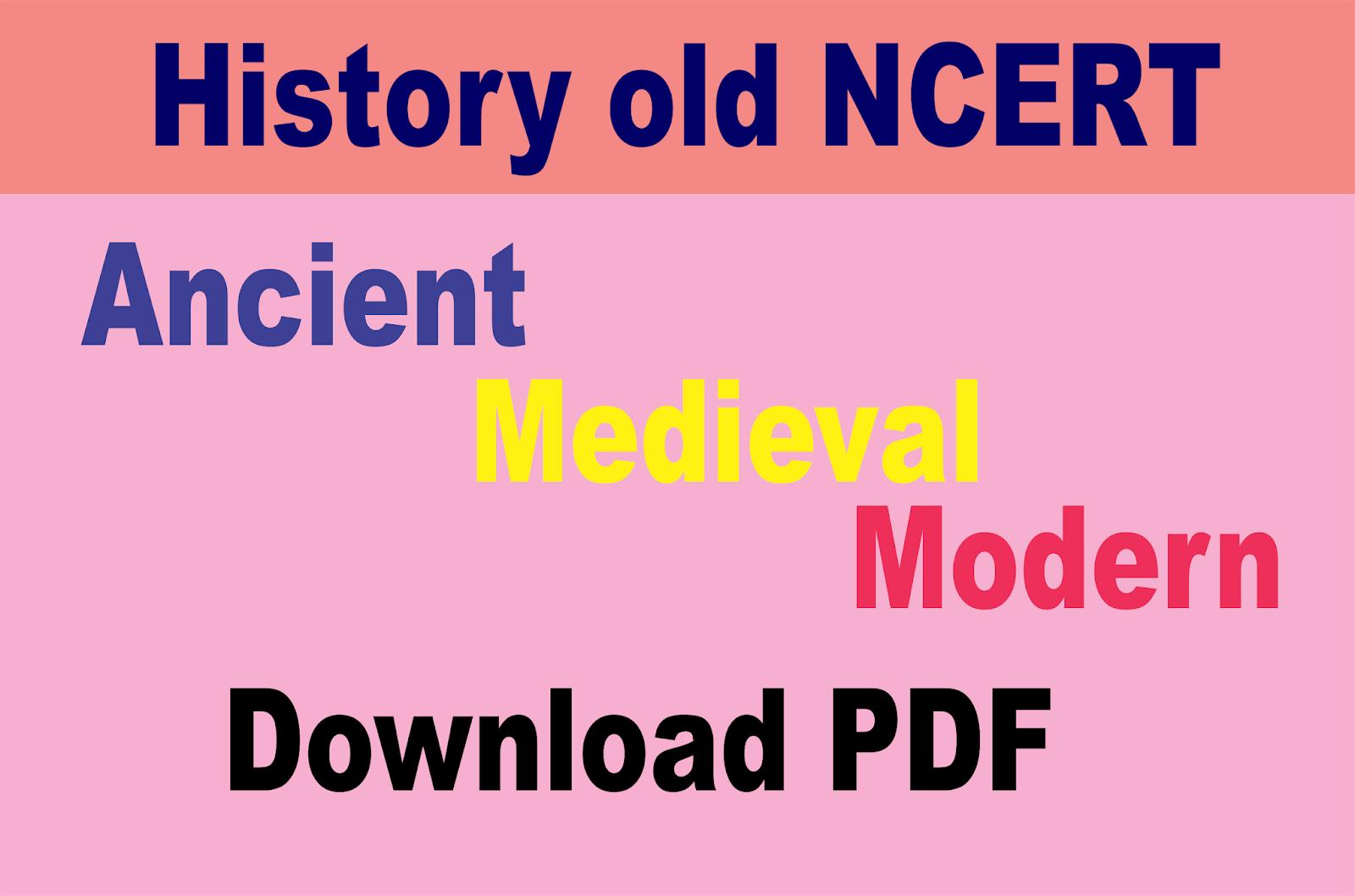Pdf ncert history