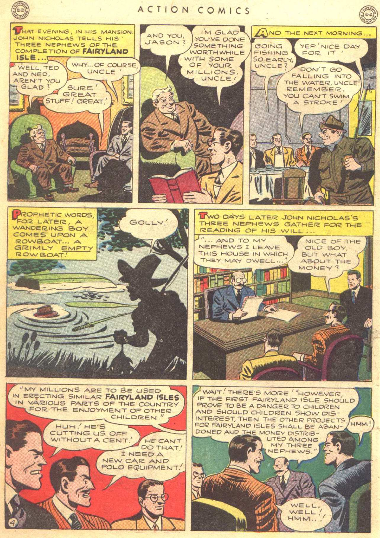 Read online Action Comics (1938) comic -  Issue #81 - 6