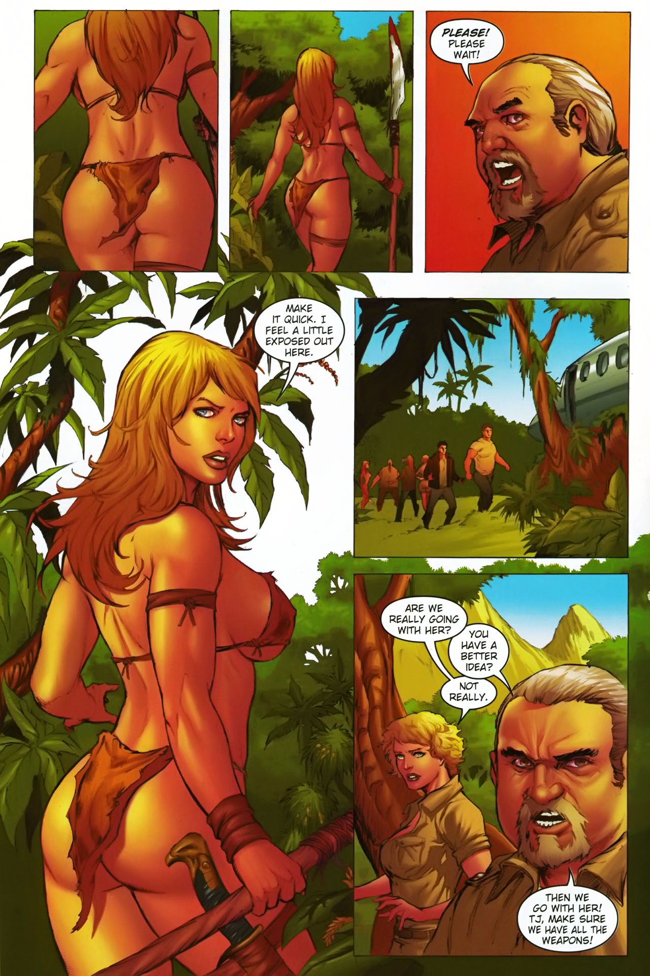 Read online Jungle Girl comic -  Issue #1 - 13