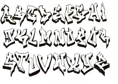 graffiti abc,graffiti schrift,graffiti alphabet