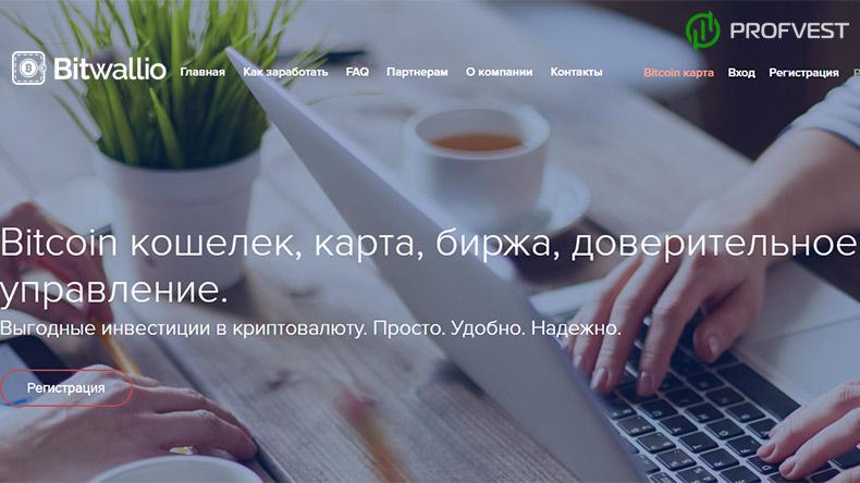 Bitwallio обзор и отзывы HYIP-проекта