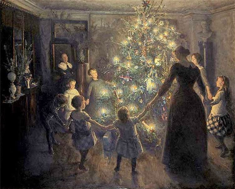 The Dance Of Life: On The Yule Tree And Her Greenery;