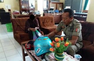 Nenek Ini Nekat Mencuri Helm Di Lingkup Pemkab Bojonegoro