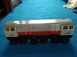 Miniatur Lokomotif Kereta Api