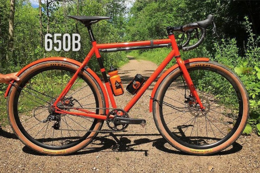 Guitar Ted Productions: 650B Gravel Bikes: Are They ...