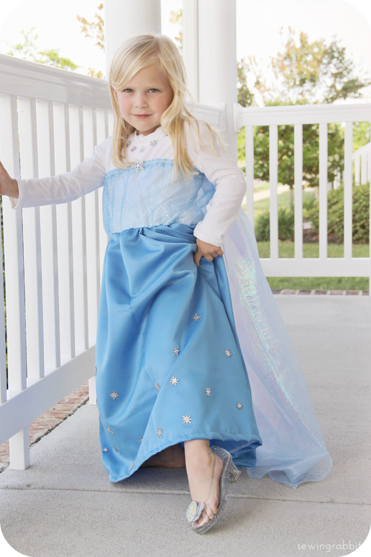 come fare il costume di Elsa (frozen)