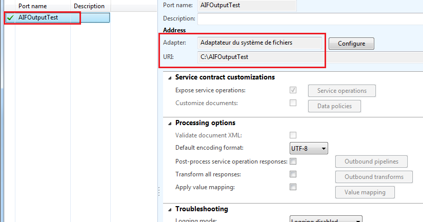 Dynamics AX Developer AX 2012 Export Data with Outbound ports