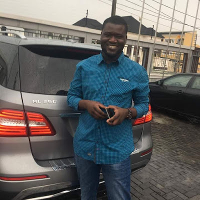 Owner Of Naijaloaded Makinde Azeez Flaunts His Newly Acquired 20Million Naira MML350 Car