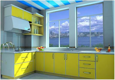 dapur minimalis ukuran 2x2 yang elegan