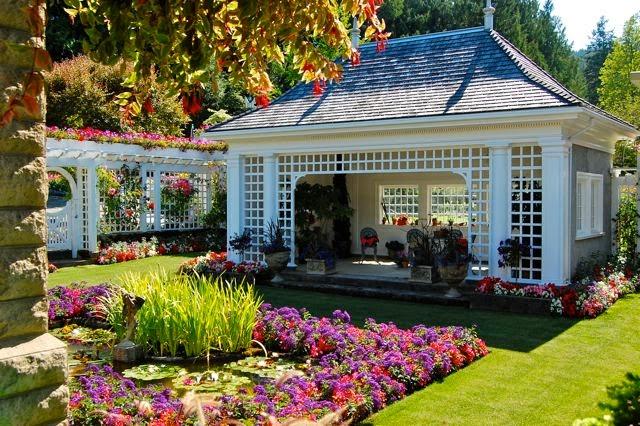 Descubre tu mundo destino los preciosos jardines for Fotos de jardines particulares