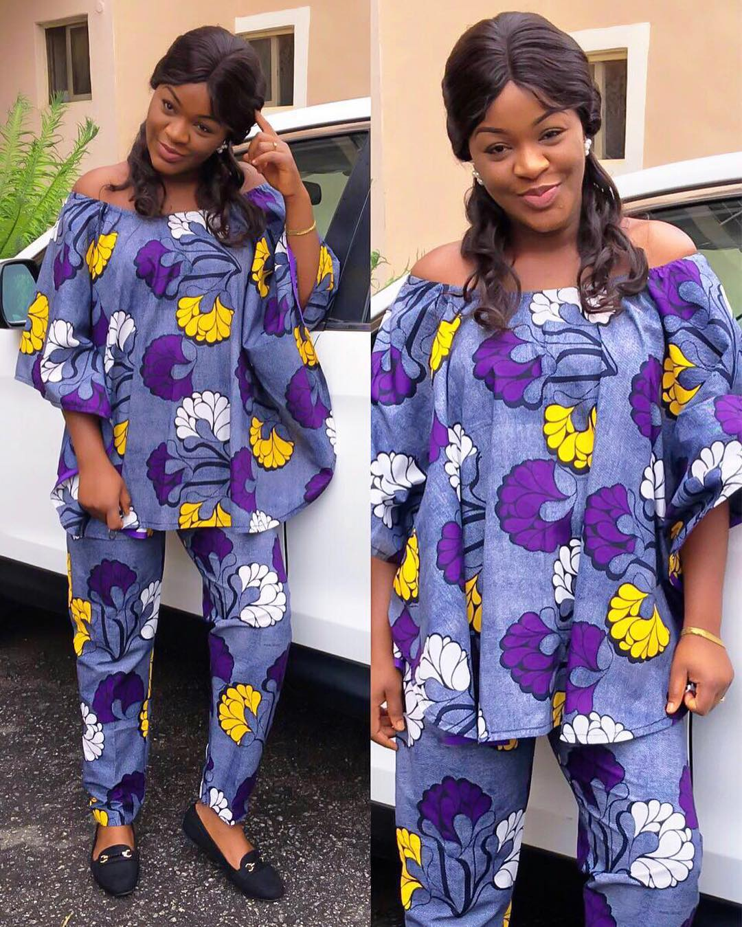 CHACHA EKE-FAANI SHOWS OFF HER PREGNANCY IN THIS LOVELY ANKARA (PHOTOS)