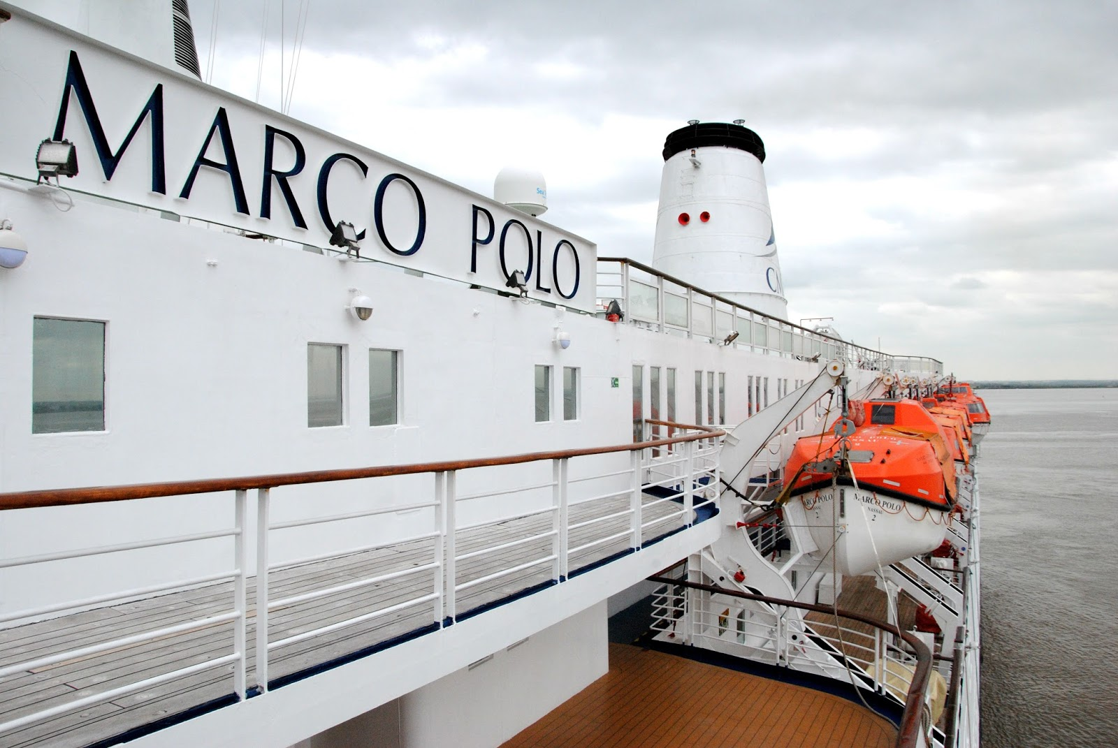 """NAVIGATION-Cruising and Maritime Themes: """"MARCO POLO"""" from ..."""