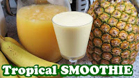 tropical smoothie recipes, healthy smoothies recipe, tropical smoothie, smoothie recipes, smoothie recipe, juicing recipes, healthy foods, banana smoothie, orange smoothie, fruits and vegetables, vegetables, green smoothie, green smoothie recipe, yogurt smoothie, milkshakes, healthy drinks