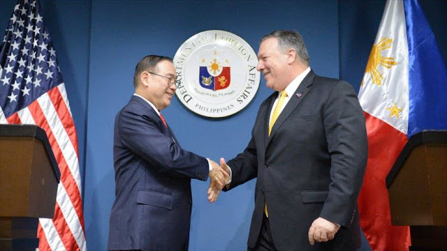 EEUU ayudará a Filipinas si es atacado por China en mar disputado