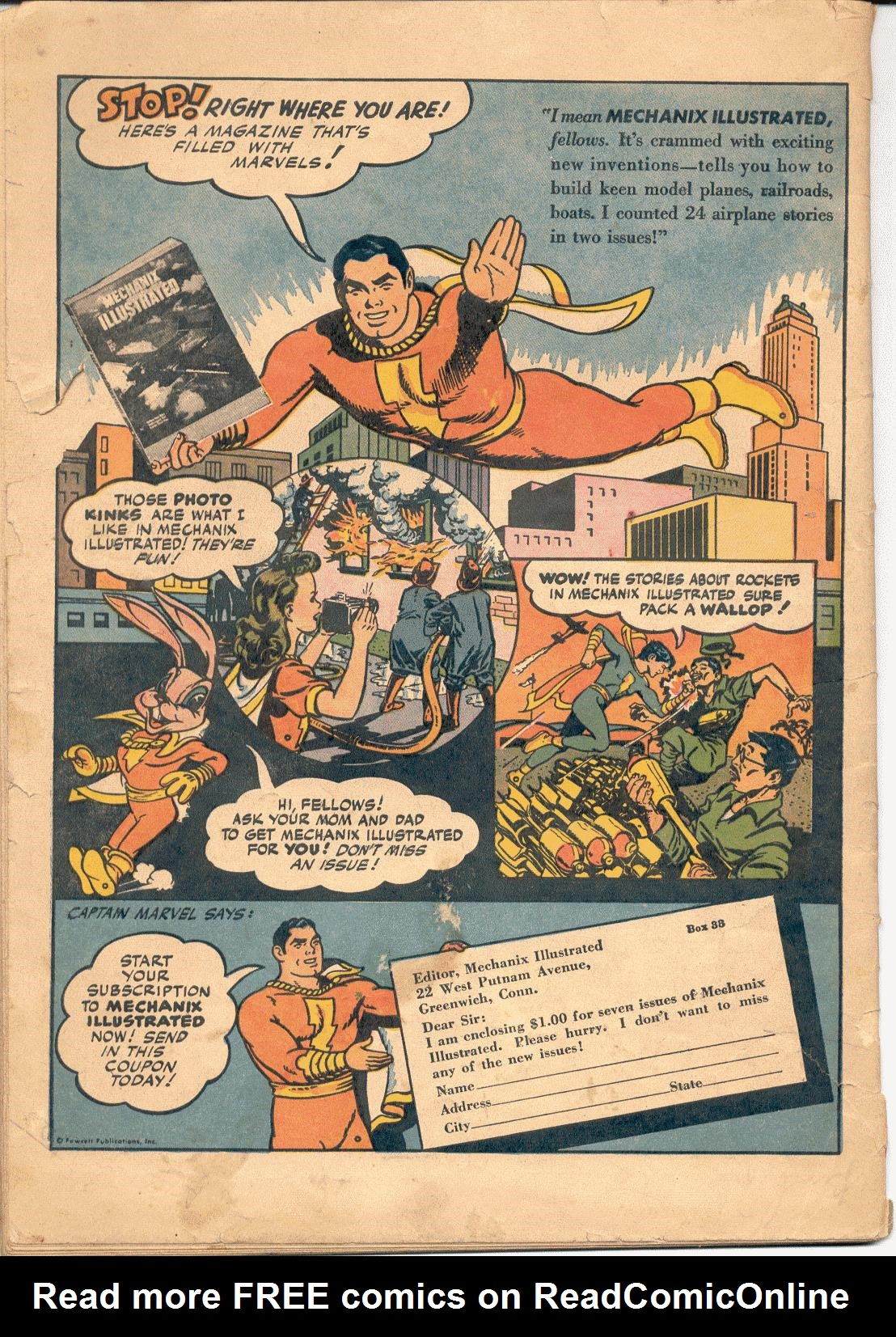 WHIZ Comics issue 70 - Page 36