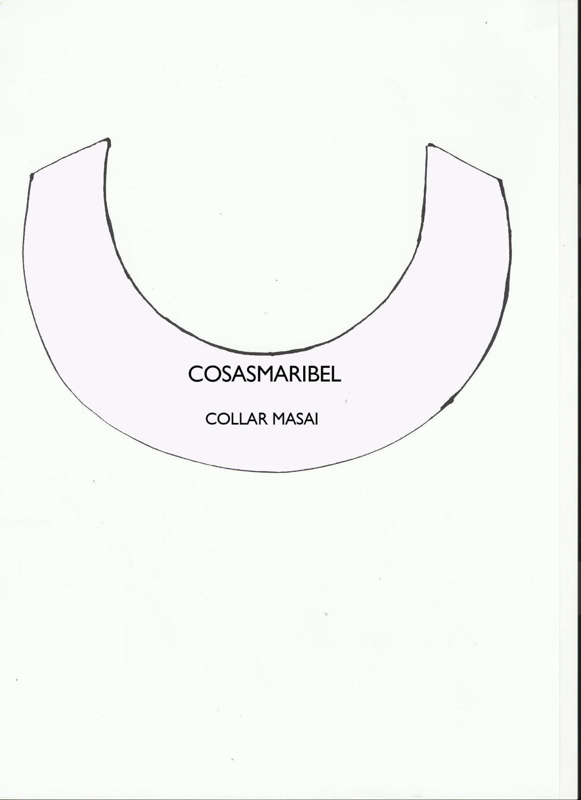 43658a6aecd8 cosasmaribel  DIY Como hacer un collar de hilo de colores