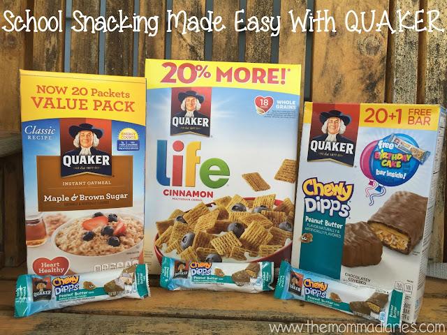 #QuakerTime #ad  #BTS #backtoschool #snacks