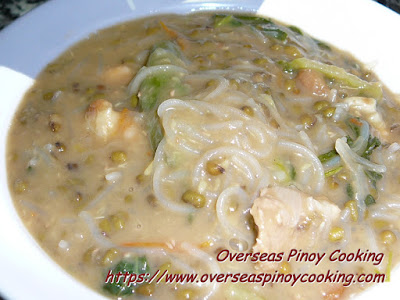 Ginisang Munggo with Sotanghon Recipe