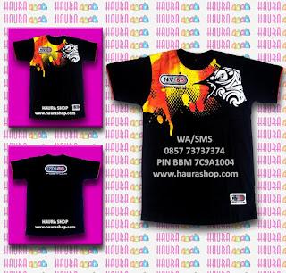Kaos / T-shirt yang Haura Shop jual adalah kaos Ori produksi dari NV88. Dengan memakai kaos NV88 yang asli menunjukkan kalau Anda adalah seorang pleman sejati dan berkelas.