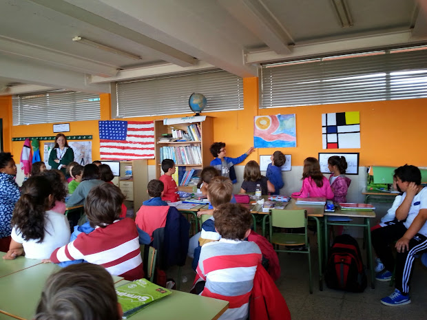 Learning English In De Vigo June 2014