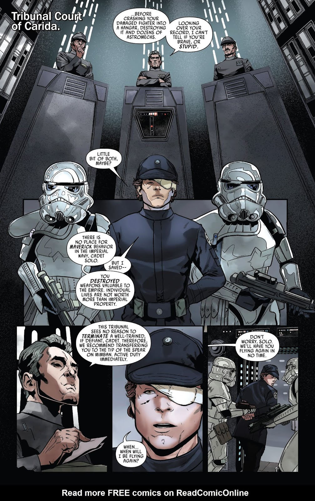 Read online Solo: A Star Wars Story Adaptation comic -  Issue #1 - 23