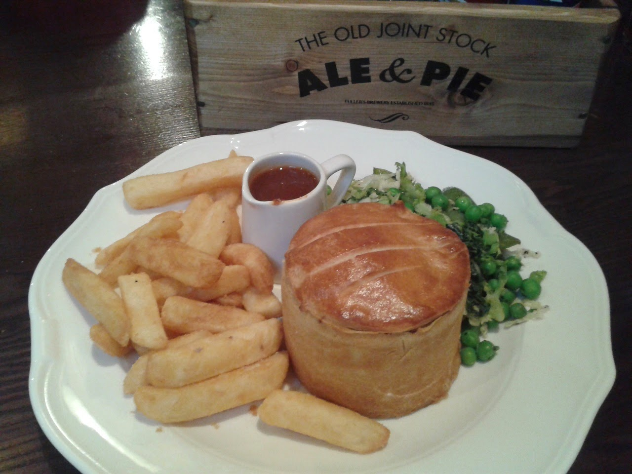 Old Joint Stock Ale and Pie House - Steak Pie Review