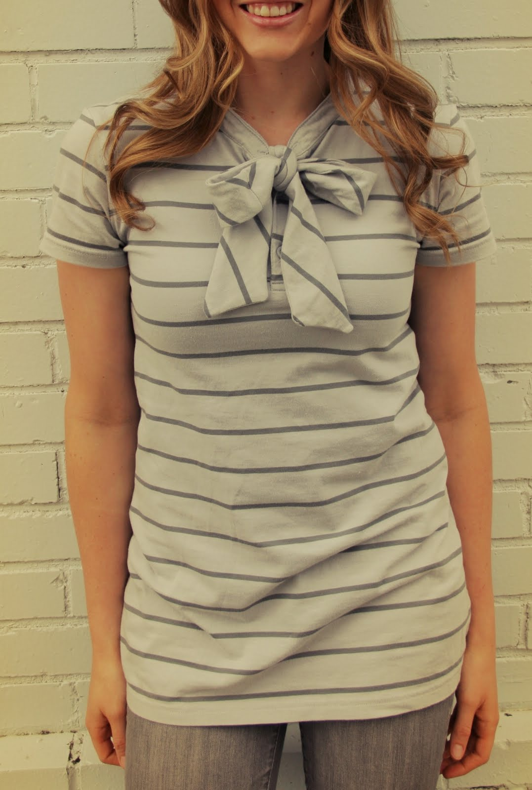 Eyelets and Bows shirts