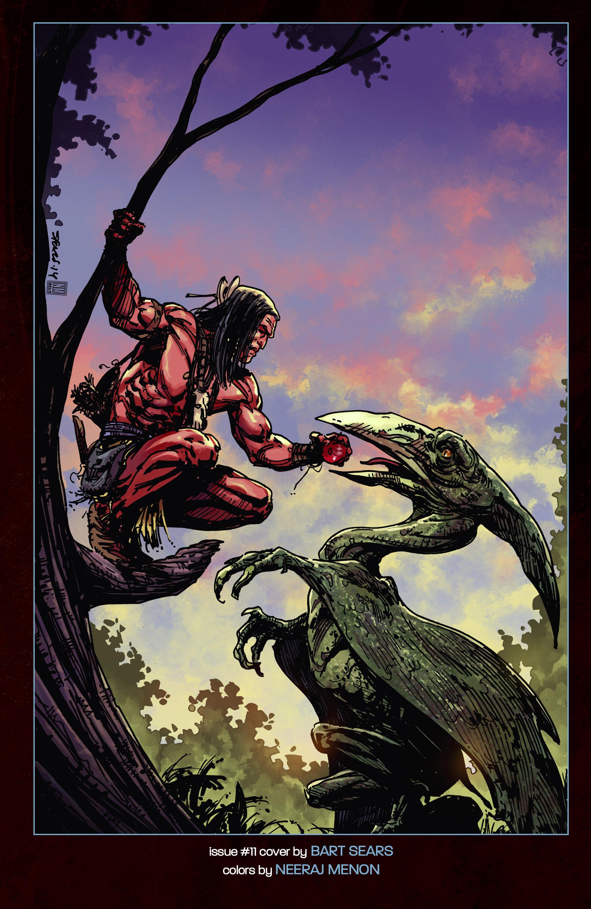 Read online Turok: Dinosaur Hunter (2014) comic -  Issue # _TPB 3 - 118