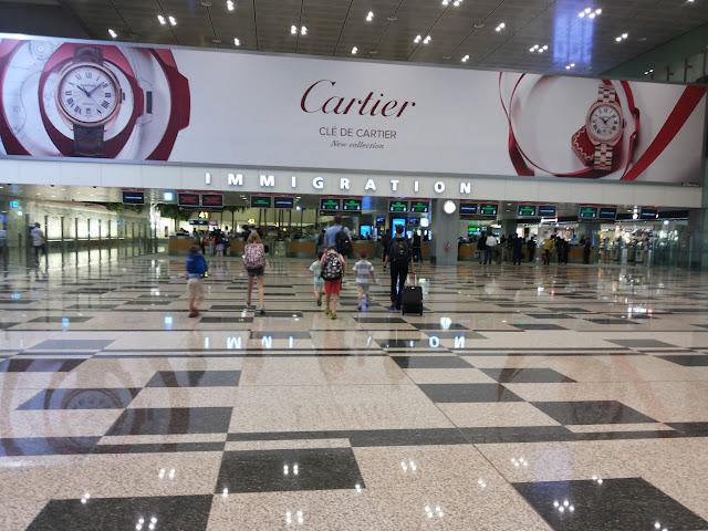 Bandara Changi - Wisata Singapura