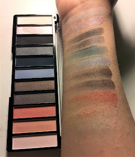 The Color Workshop Fashion Palace smokey palette swatches