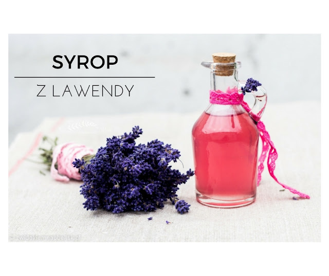 Lawenda full of love - naturalny syrop lawendowy