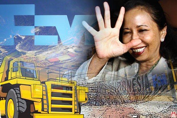 Terungkap! Bukan 4, Menteri Rini Sebut 11 Bank Asing Bantu Bayar Freeport