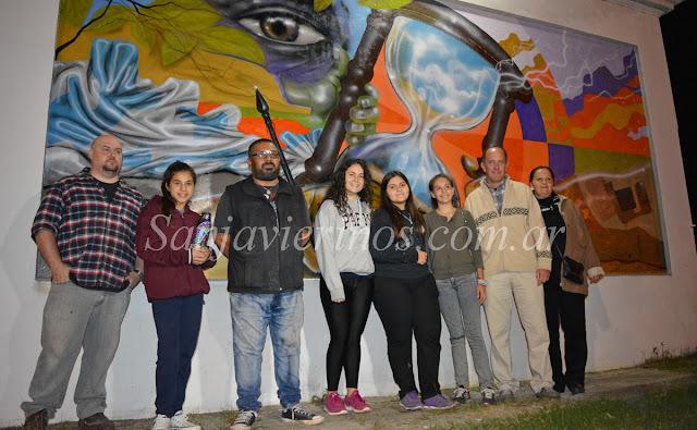 San javier ahora este viernes inaugurar n el mural de for Club de suscriptores mural