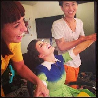 Jacqueline Fernandez instagram pics massage