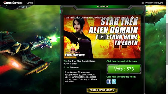 Star Trek Alien Domain First Anniversary Video Contest