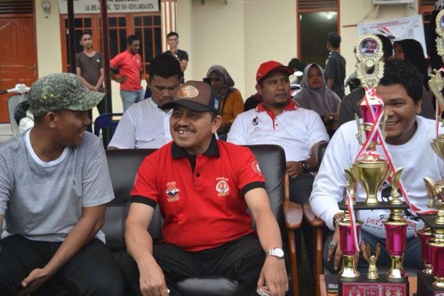 Marzuki Hamid Tutup Rakan Mualem Volly Ball Cup