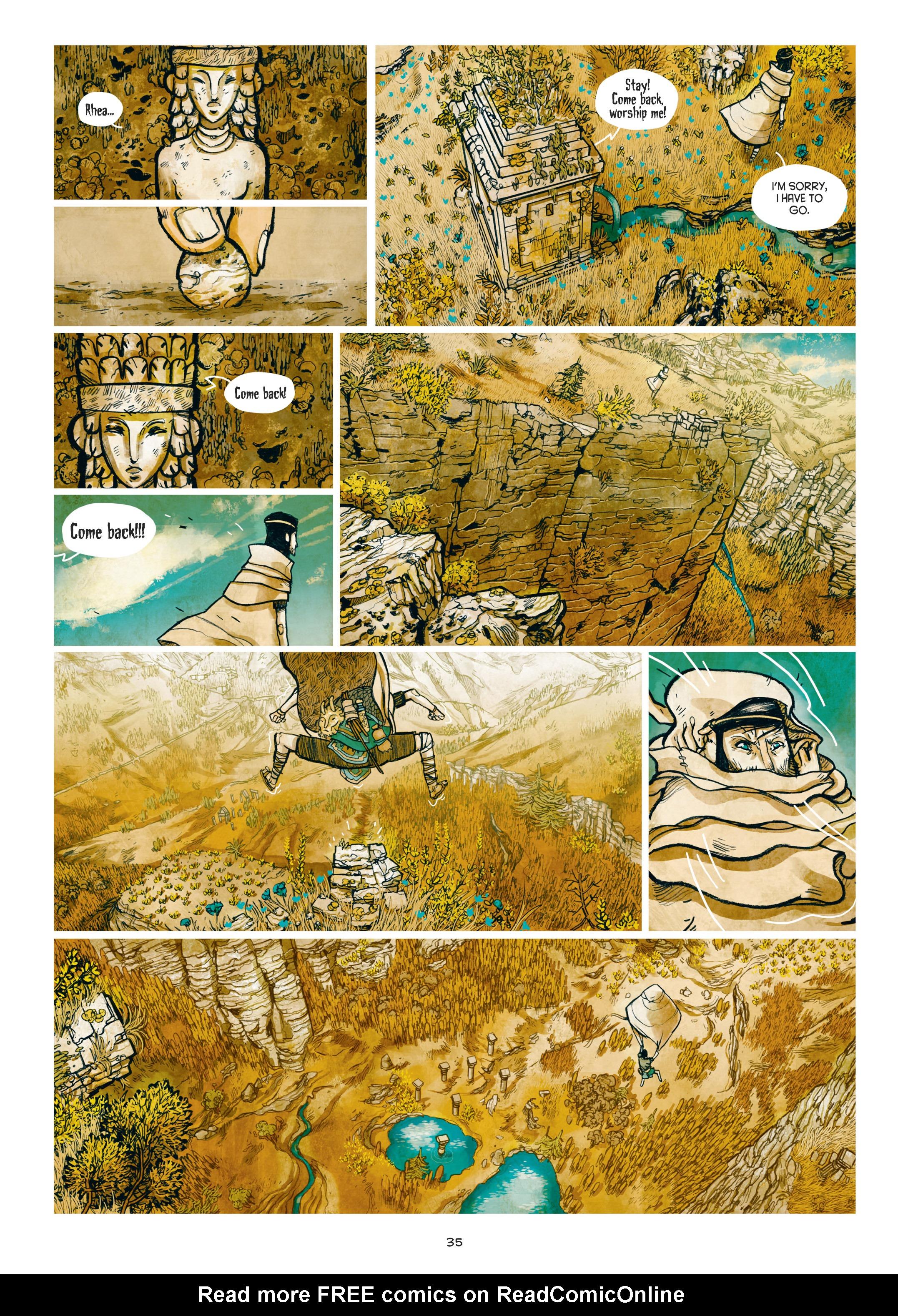Read online Adrastée comic -  Issue #1 - 36
