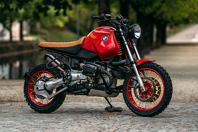 """garage italiano: BMW R 1150 GS """"RED ROOSTER"""" by NCT ..."""