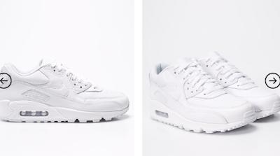 Cumpara adidasi albi Nike Air Max  pentru barbati