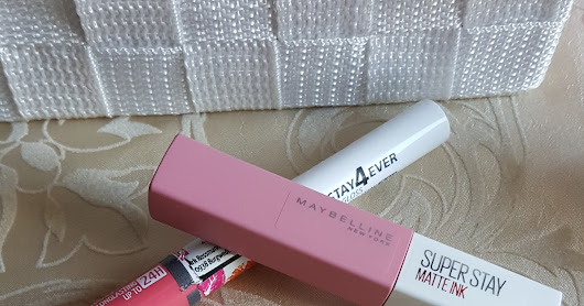 Maybellin Super Matt Ink vs. RdeL Young Stay4Ever Lip Gloss